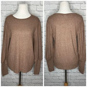 A New Day NWT Light Brown Sweater Large